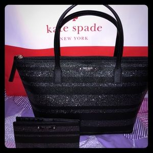 Kate Spade Haven Lane tote & matching Stacy wallet